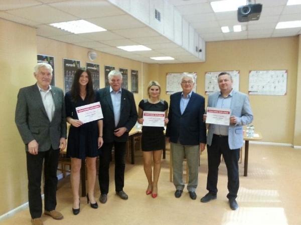 Trener Tomasz Szporko i zawodniczka APR Emilia Wasiucionek zdali egzaminy na licencję trenerską B.